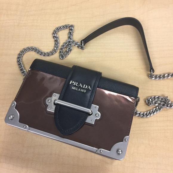 216e5c438b58 Prada Bags | Cahier Shoulder Bag Brown | Poshmark